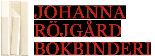Johanna Röjgård Bokbinderi Logotyp